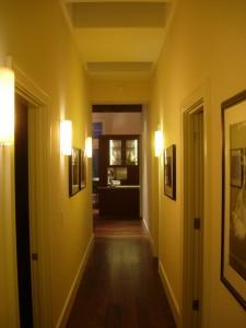 Alt text: 111 Aguire Drive hallway