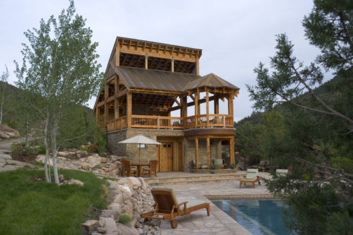 Alt text: Cascabel pavilion