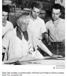 Frank Lloyd Wright, Edgar Tafel