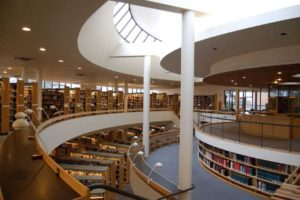 Alt text: Mount Angel Library